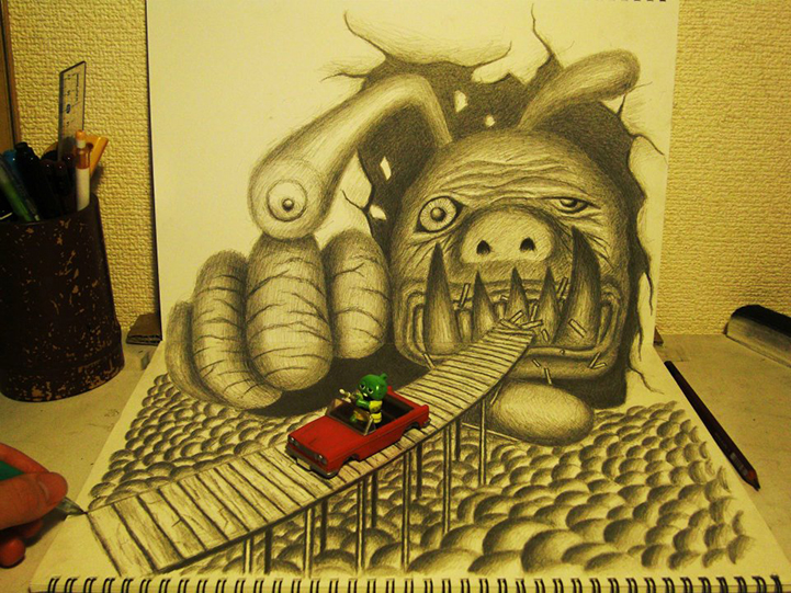 YOU WON'T BELIEVE THAT THESE DRAWINGS ARE REAL! THEY LOOK ALIVE!