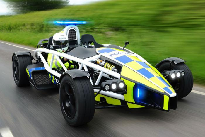 Craziest Police Car You've Ever Seen (in England!)