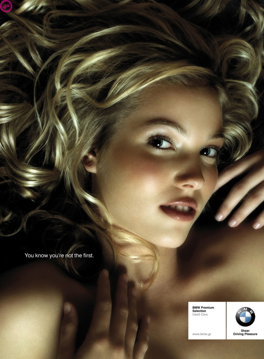 BMW sex ad