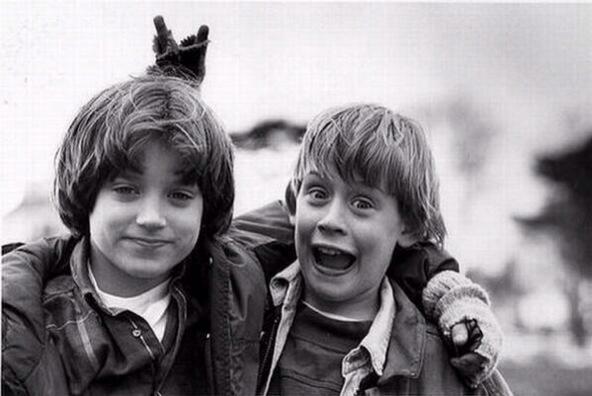 Elijah Wood & Macaulay Culkin