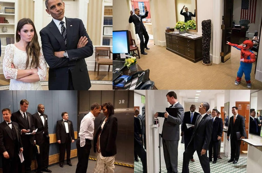 Official White House Photographer Exposes His Favourite Photos Of President Obama!
